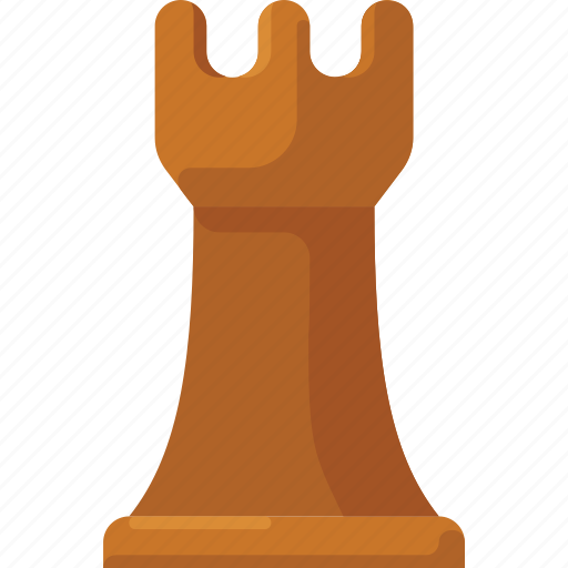 chess, piece, rook, strategy icon