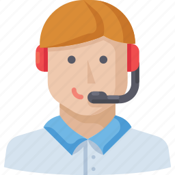 call, man, phone, support icon