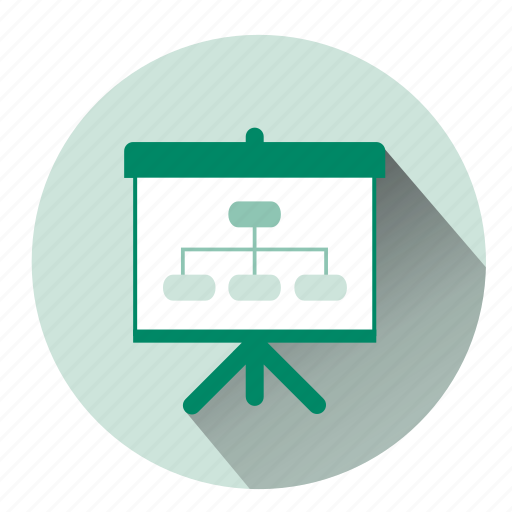 chart, company, direction, finance, graph, organization chart, strategy icon