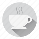 break, coffee, coffee break, coffee cup, coffee shop, drink, hot coffee icon
