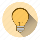 electricity, idea, innovate, innovation, lamp, light, lightbulb icon
