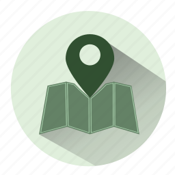 direction, gps, locate, location, map, navigation, pointer icon
