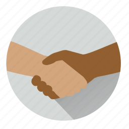 clench, cooperation, deal, handshake, negociate, partnership, shake hands icon