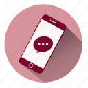 call, chat, chat phone, instant chat, message, phone call, text messages icon