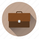 bag, briefcase, business, business bag, file, suitcase, work icon
