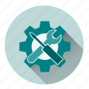 configuration, items, preferences, repair, setting, tool, tools icon