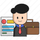 business, business man, contract, deal, network, start, up icon