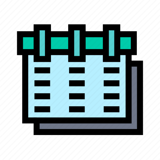 business, calendar, corporate, office, startup, work icon