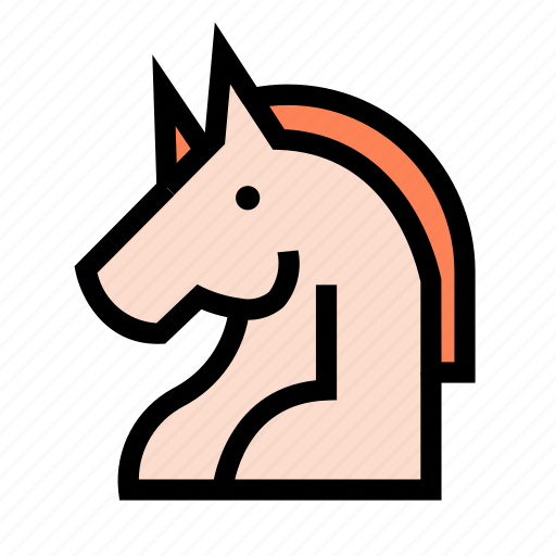 business, corporate, office, startup, unicorn, work icon