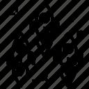 company, office, rockets icon