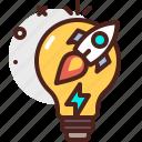 bulb, company, office