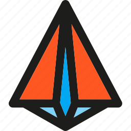 business, launch, paperplane, rocket, seo, spaceship, startup icon