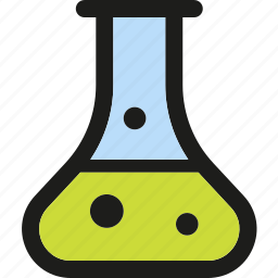 chemistry, experiment, flask, lab, research, test, tube icon