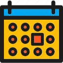 calendar, day, event, month, schedule, time icon