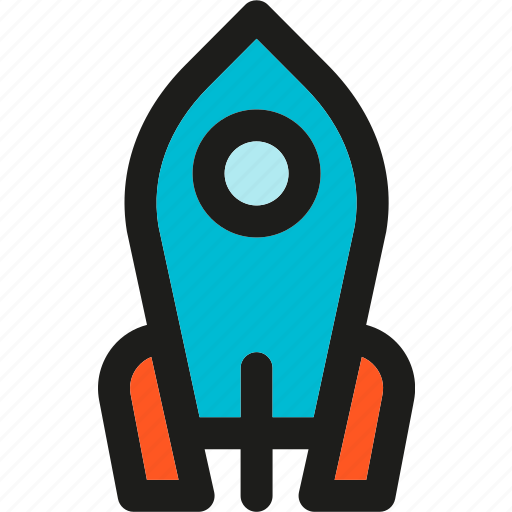 business, launch, rocket, spacecraft, spaceship, startup icon