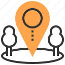 innovation, investment, location, management, opportunity, startup, strategy icon