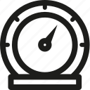 measure, preferences, speed, speedometer, tool, tools icon
