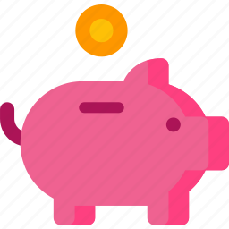 bank, banking, cash, dollar, finance, payment, piggy icon