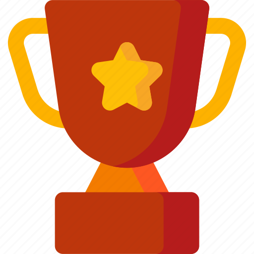 achievement, award, medal, prize, star, trophy, winner icon