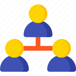 business, connection, network, social, team, teamwork icon