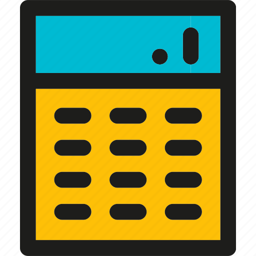 accounting, calculating, calculation, calculator, finance, math icon