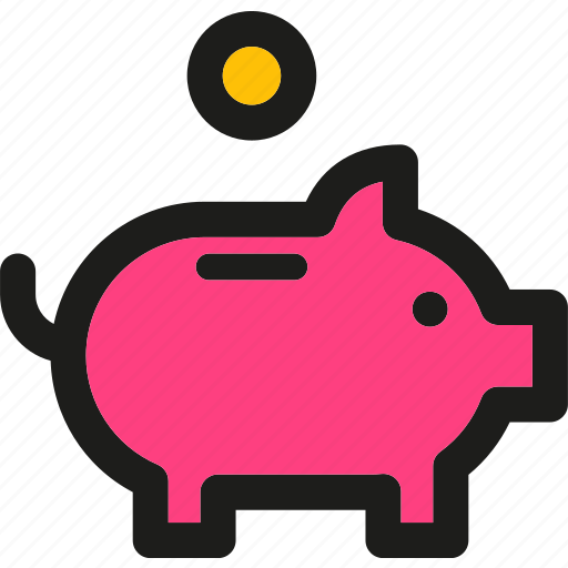 bank, banking, cash, dollar, money, payment, piggy icon