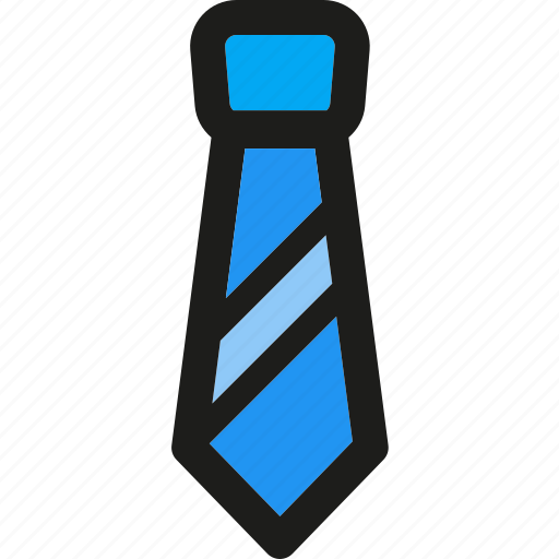 business, clothes, fashion, man, office, person, tie icon