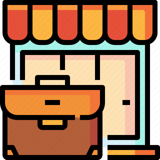 business, commerce, shop, store icon