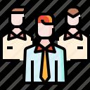 employee, group, networking, partner, people, team, user