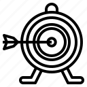 arrow, arrows, goal, startup, target icon