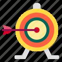 aim, arrow, focus, goal, startup, target