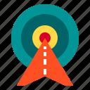 arrow, arrows, focus, startup, target