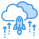 business, cloud, currency, investment, startup icon