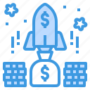 business, currency, investment, money, startup icon