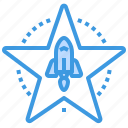 award, business, currency, investment, star, startup icon