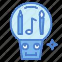 creative, idea, invention, work icon