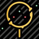 analytics, chart, find, graph, line, search, statistics icon