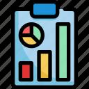 analytics, business, chart, report, startup, statistics icon