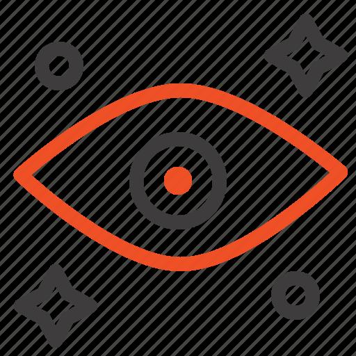 eye, eyes, watching icon