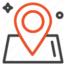 location, map, way, world icon