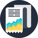 analysis, data, document, file, graph, report icon