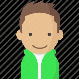 avatar, hoodie, office, officeavataryoungman, startup icon
