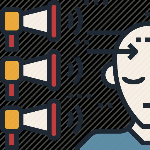 customer, feedback, get, listen, understand icon