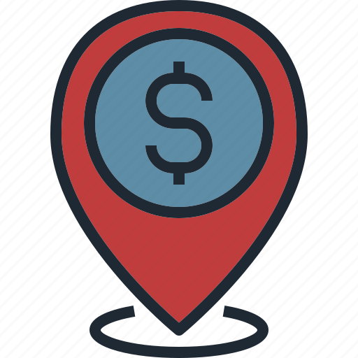 business, direction, local, location, pin icon