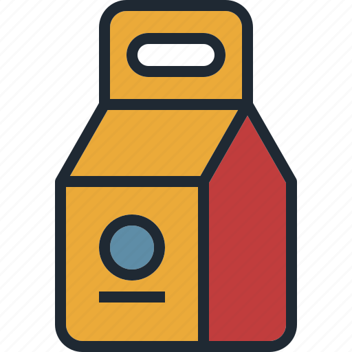 box, carton, container, design, packaging icon
