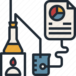 analysis, data, development, experiment, research icon