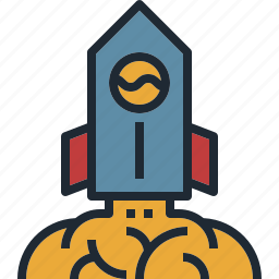 business, rocket, start, startup, up icon
