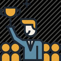 colleague, coworker, leader, team, teamwork icon