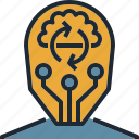 mental, mind, planning, processing, thinking icon