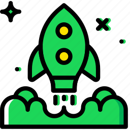 business, company, launch, startup icon